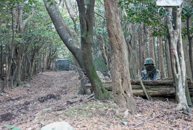 画像8: 通信・衛生・狙撃の訓練検閲|陸自対馬警備隊
