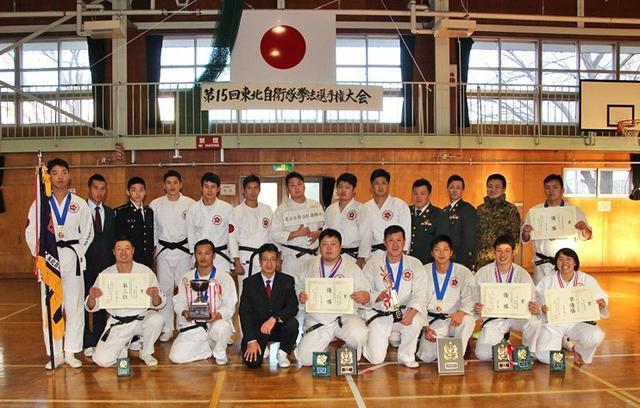 画像4: 東北自衛隊拳法選手権 団体10連覇|神町駐屯地