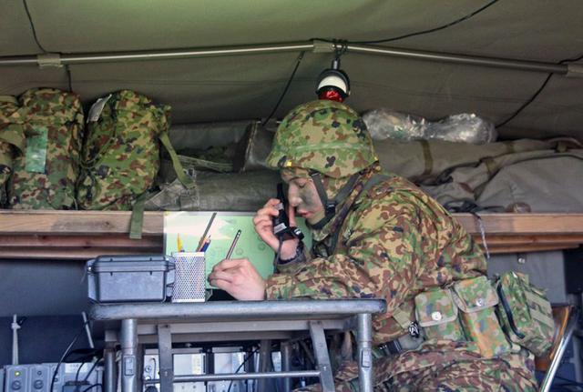 画像2: 通信・衛生・狙撃の訓練検閲|陸自対馬警備隊