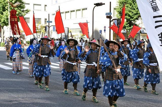 画像11: 郷土英傑行列で名古屋まつり支援|守山駐屯地
