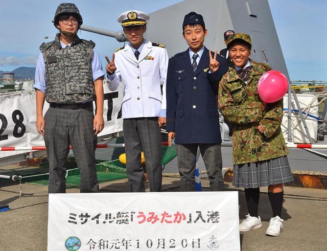 画像4: 佐渡で海自ミサイル艇「うみたか」公開|新潟地本