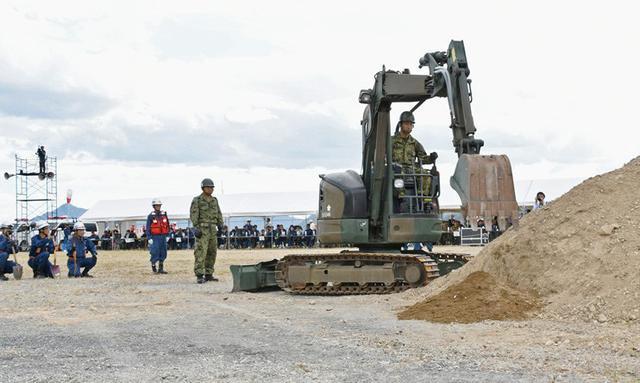 画像3: 広島県防災訓練に隊員500人|海田市駐屯地