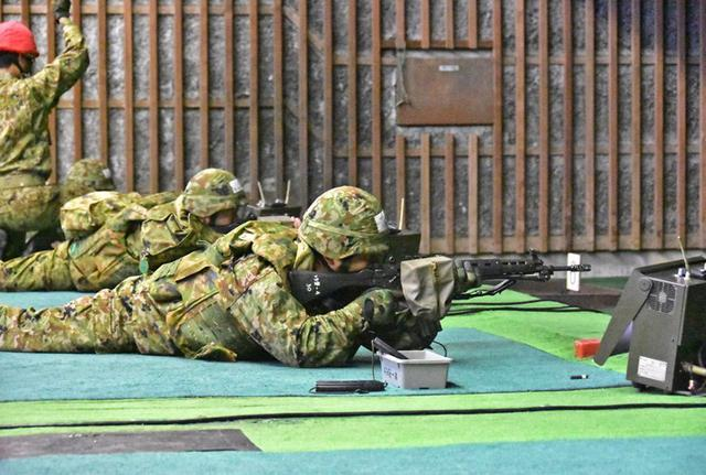 画像3: 小銃・機関銃 射撃技術競い合う|豊川駐屯地