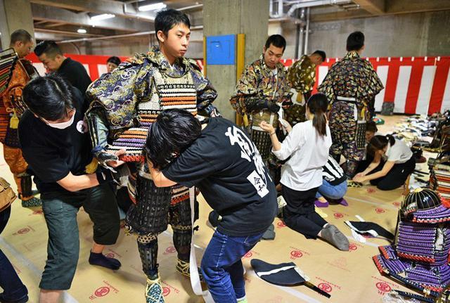 画像2: 郷土英傑行列で名古屋まつり支援|守山駐屯地