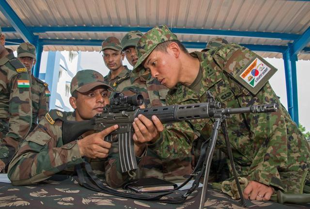 画像10: 対テロ戦術向上 インド陸軍と実動訓練|板妻駐屯地