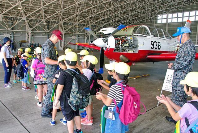 画像1: 小学生・高校生の基地見学に協力|空自静浜基地