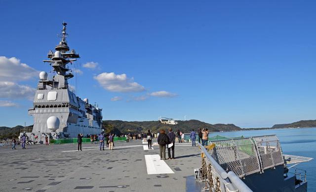 画像3: 護衛艦「いせ」公開を支援|佐賀地本