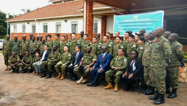 画像5: ウガンダPKO支援 隊員14人帰国|岩見沢駐屯地