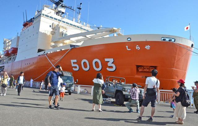 画像6: 砕氷艦「しらせ」公開に1.2万人|愛知地本