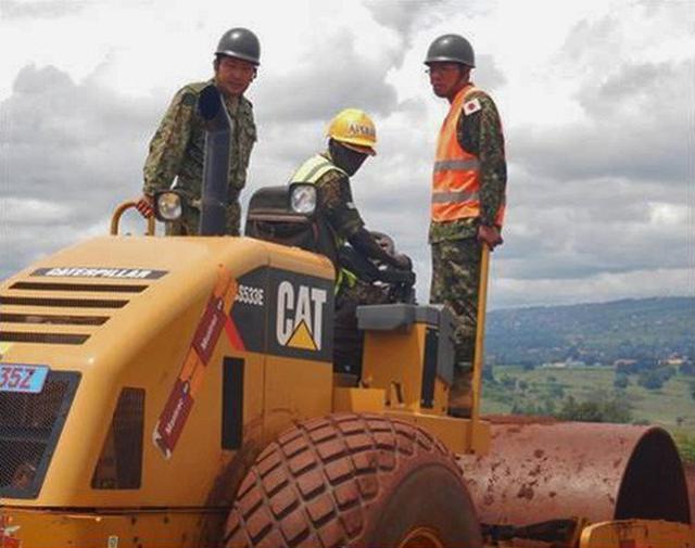 画像11: ウガンダPKO支援 隊員14人帰国|岩見沢駐屯地