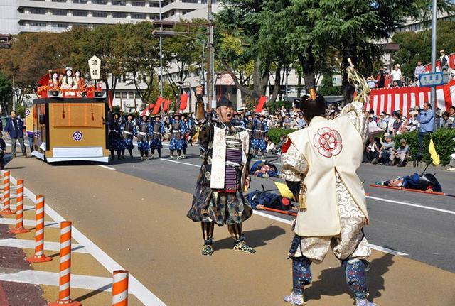 画像10: 郷土英傑行列で名古屋まつり支援|守山駐屯地
