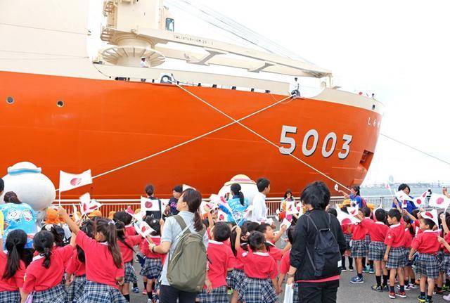 画像4: 砕氷艦「しらせ」公開に1.2万人|愛知地本