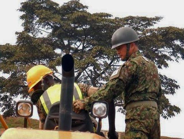 画像9: ウガンダPKO支援 隊員14人帰国|岩見沢駐屯地