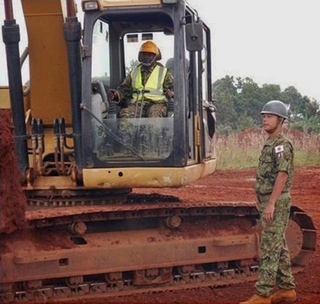 画像12: ウガンダPKO支援 隊員14人帰国|岩見沢駐屯地