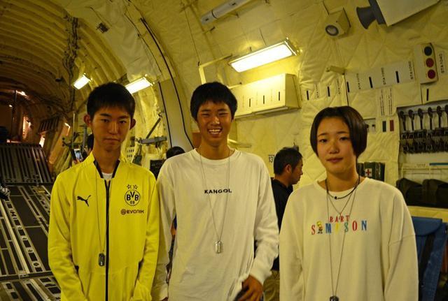 画像4: 学生ら49人 C2体験搭乗|鳥取地本