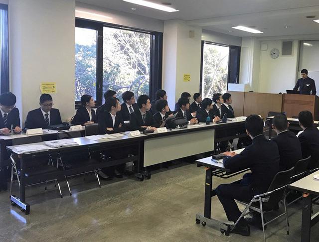 画像1: 防大生・京大生の討論会を支援|京都地本
