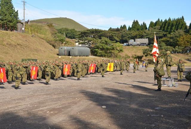 画像2: 西方混成団 創隊初の訓練検閲|久留米駐屯地