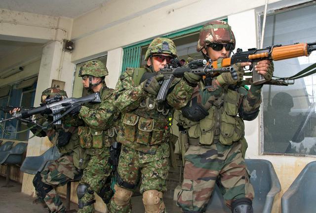 画像5: 対テロ戦術向上 インド陸軍と実動訓練|板妻駐屯地