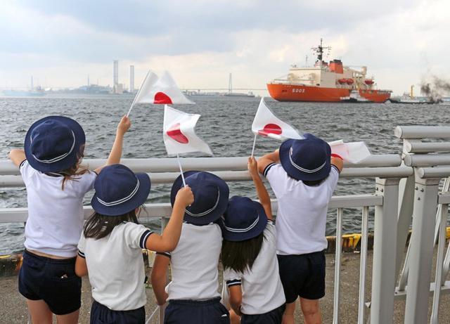 画像2: 砕氷艦「しらせ」公開に1.2万人|愛知地本