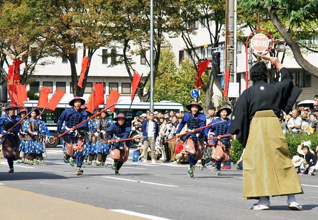 画像4: 郷土英傑行列で名古屋まつり支援|守山駐屯地
