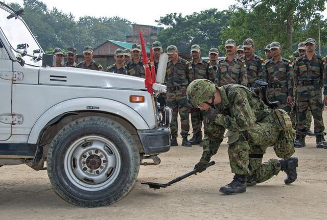 画像7: 対テロ戦術向上 インド陸軍と実動訓練|板妻駐屯地
