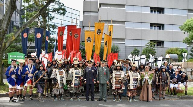 画像1: 郷土英傑行列で名古屋まつり支援|守山駐屯地