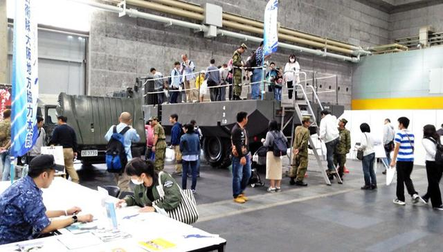 画像1: ホビーフェスで自衛隊をPR|大阪地本