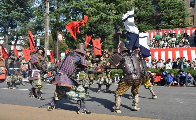 画像7: 郷土英傑行列で名古屋まつり支援|守山駐屯地