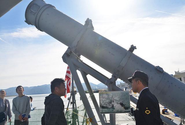 画像2: 佐渡で海自ミサイル艇「うみたか」公開|新潟地本