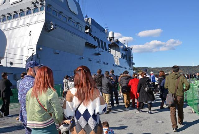 画像1: 護衛艦「いせ」公開を支援|佐賀地本