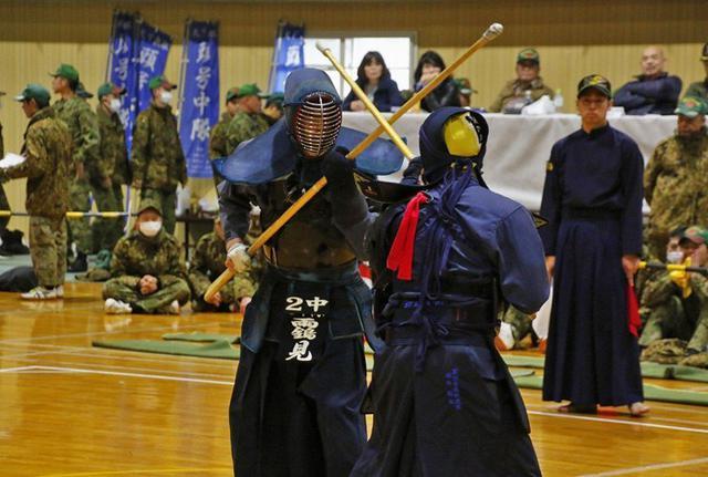 画像1: 2中隊が5連覇 銃剣道競技会|伊丹駐屯地