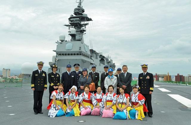 画像6: 護衛艦「いずも」青森に初入港|青森地本