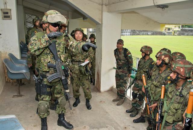 画像4: 対テロ戦術向上 インド陸軍と実動訓練|板妻駐屯地