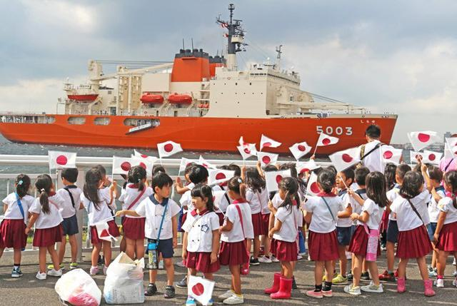 画像3: 砕氷艦「しらせ」公開に1.2万人|愛知地本