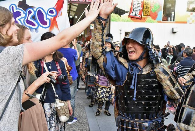 画像13: 郷土英傑行列で名古屋まつり支援|守山駐屯地