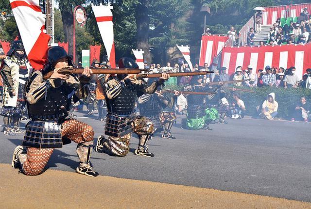 画像5: 郷土英傑行列で名古屋まつり支援|守山駐屯地