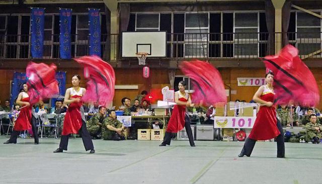 画像: 「盆踊り」で住民と交流|八戸駐屯地