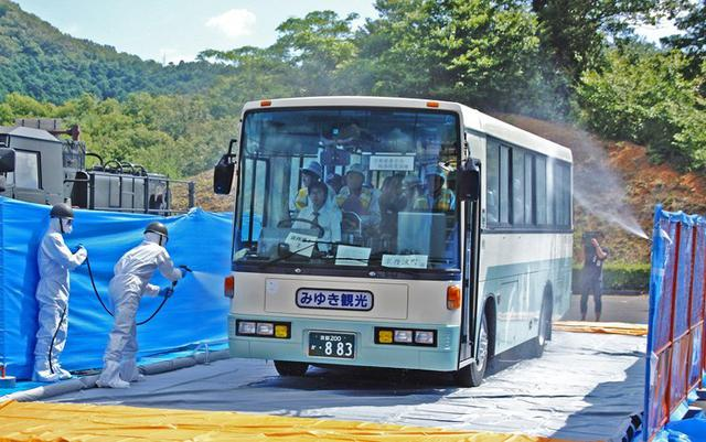 画像: 原子力総合防災訓練に参加|福知山駐屯地