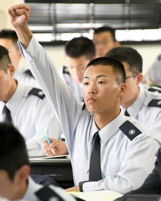 画像1: 【自候生インタビュー3弾】震災での隊員の姿に入隊決意、航空管制官を目指す
