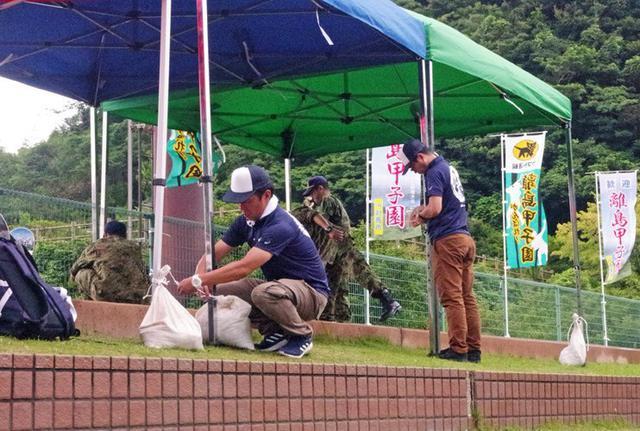 画像2: 離島甲子園でカレー600食振る舞う|対馬警備隊