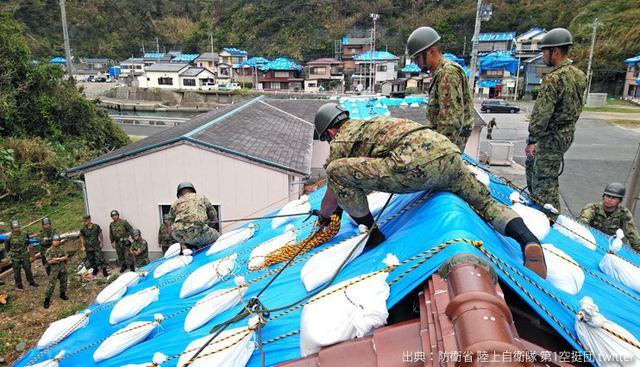 画像1: 台風15号 停電復旧支援を終了|陸海空自部隊