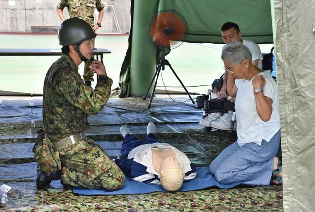 画像5: 地震想定の防災訓練に隊員200人|陸自15旅団