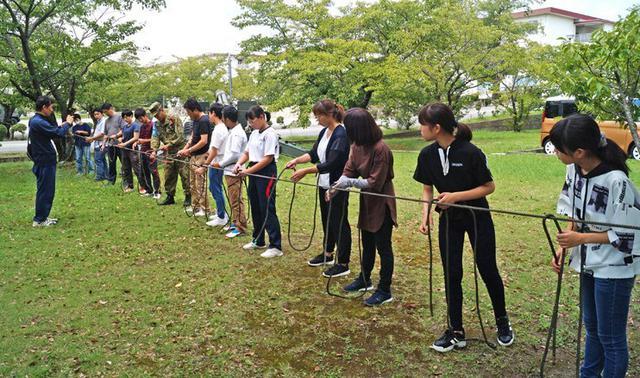 画像1: 防災訓練「親子ふれあい活動」開催|姫路駐屯地