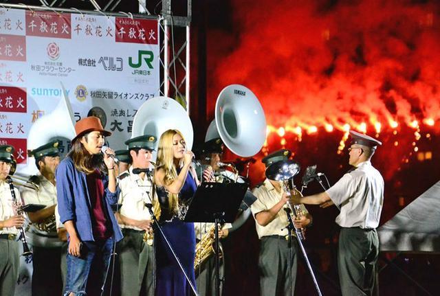 画像1: 「千秋花火」イベントに協力|秋田駐屯地