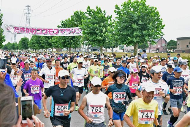 画像1: コスモスマラソン参加、大会支援|滝川駐屯地