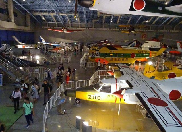 画像1: イベントで広報館を午後8時まで開館|空自浜松基地