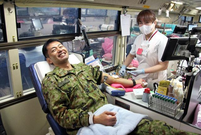 画像1: 271人、100L献血チャレンジ達成|福知山駐屯地