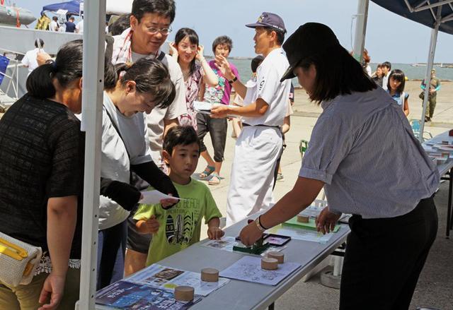 画像8: 新潟開港150周年に多用途支援艦「ひうち」公開|新潟地本