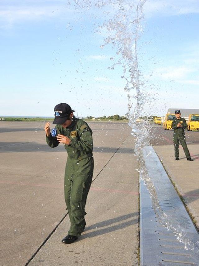 画像5: 2空隊で初のP3C女性機長|海自八戸航空基地