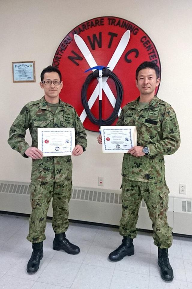 画像1: 米陸軍の上級課程訓練に留学|陸自冬季戦技教育隊